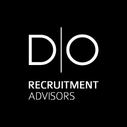 logo fond noir do recruitment advisors