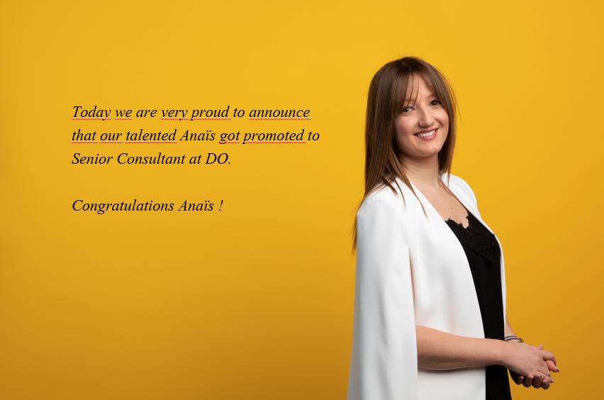 promotion do recruitment advisors senior consultant